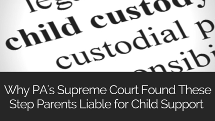 PA SCOTUS Child custody