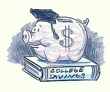 college payment divorce